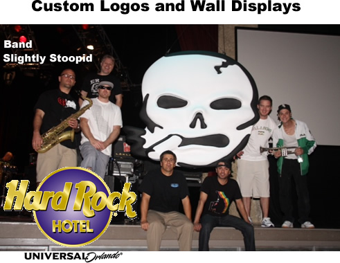 Custom Logos of Bands / Events / Corporations/ Retail Displays