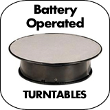 Battery Operated Turntables