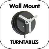Wall Mount Turntables
