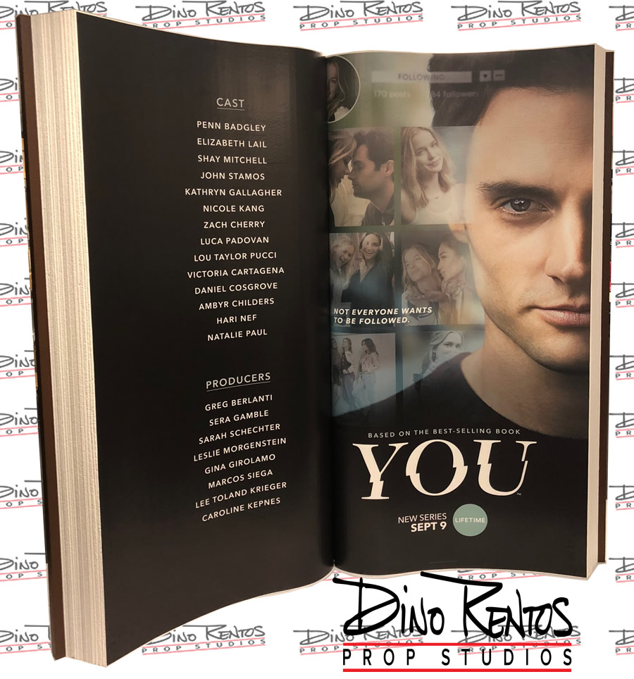 Large Oversize Custom Foam Book Prop for YOU Lifetime Movie Premiere