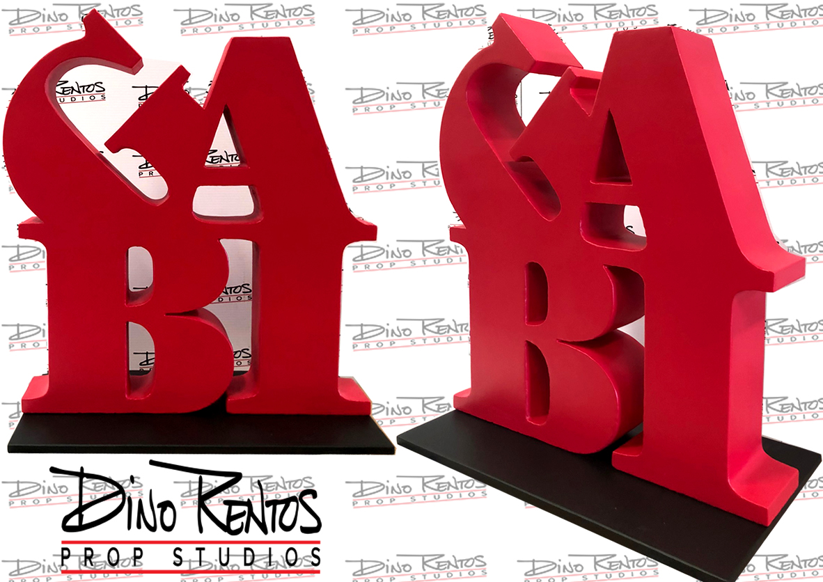 GABI Foam Letters Display and Prop for Events and Tradeshows
